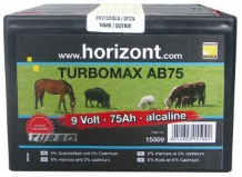 Horizont Turbomax AB75 Energiser Battery